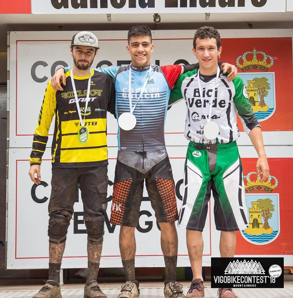 Ránking final Copa Galicia Enduro 2018:  Manuel Gómez, 2º máster 50 y Brais Boullosa, 3º sub 23