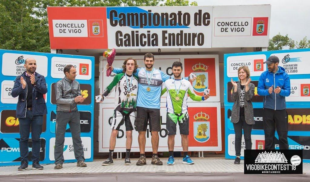 Medallas de plata  junior y sub 23 para Pedro Gonzalo y Brais Boullosa en el Campeonato de Galicia Enduro – VigoBikeContest