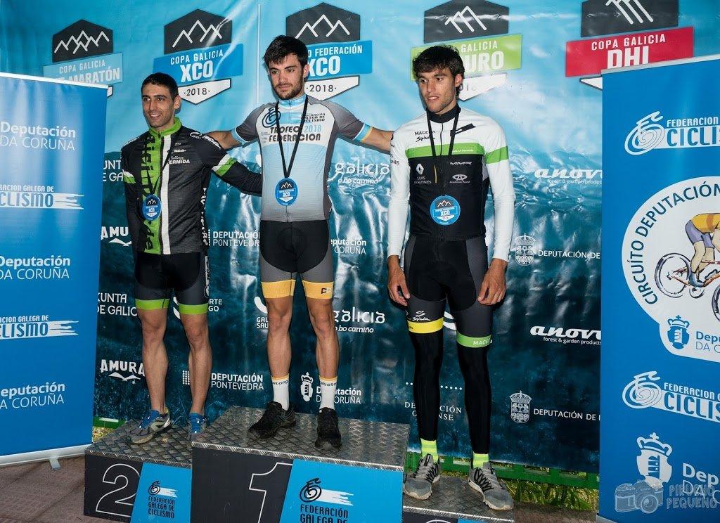 Ránking final Trofeo Federación XCO 2018: Alberto Pedreira 2º élite y Manuel Gómez 3º máster 50