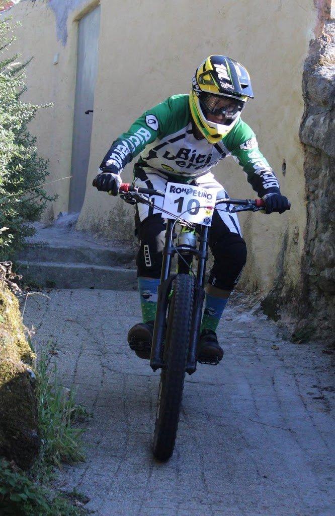 Brais Boullosa, 2º sub 23 en el III DH O Rompetiño, Porto do Son (A Coruña)