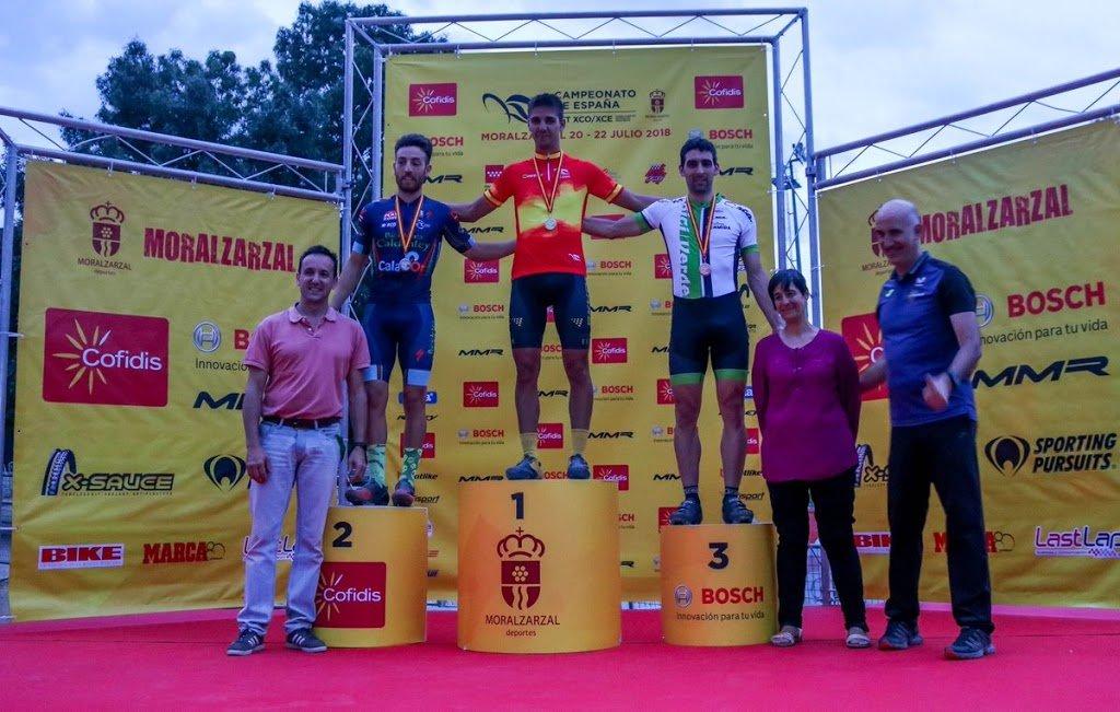 Medalla de bronce para Alberto Pedreira en el Campeonato de España XC Eliminator, Moralzarzal (Madrid)