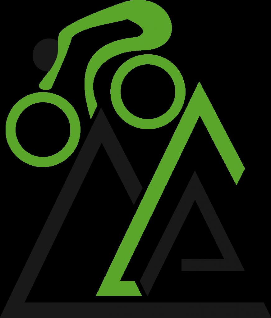 Bici Verde Simbolo Alta