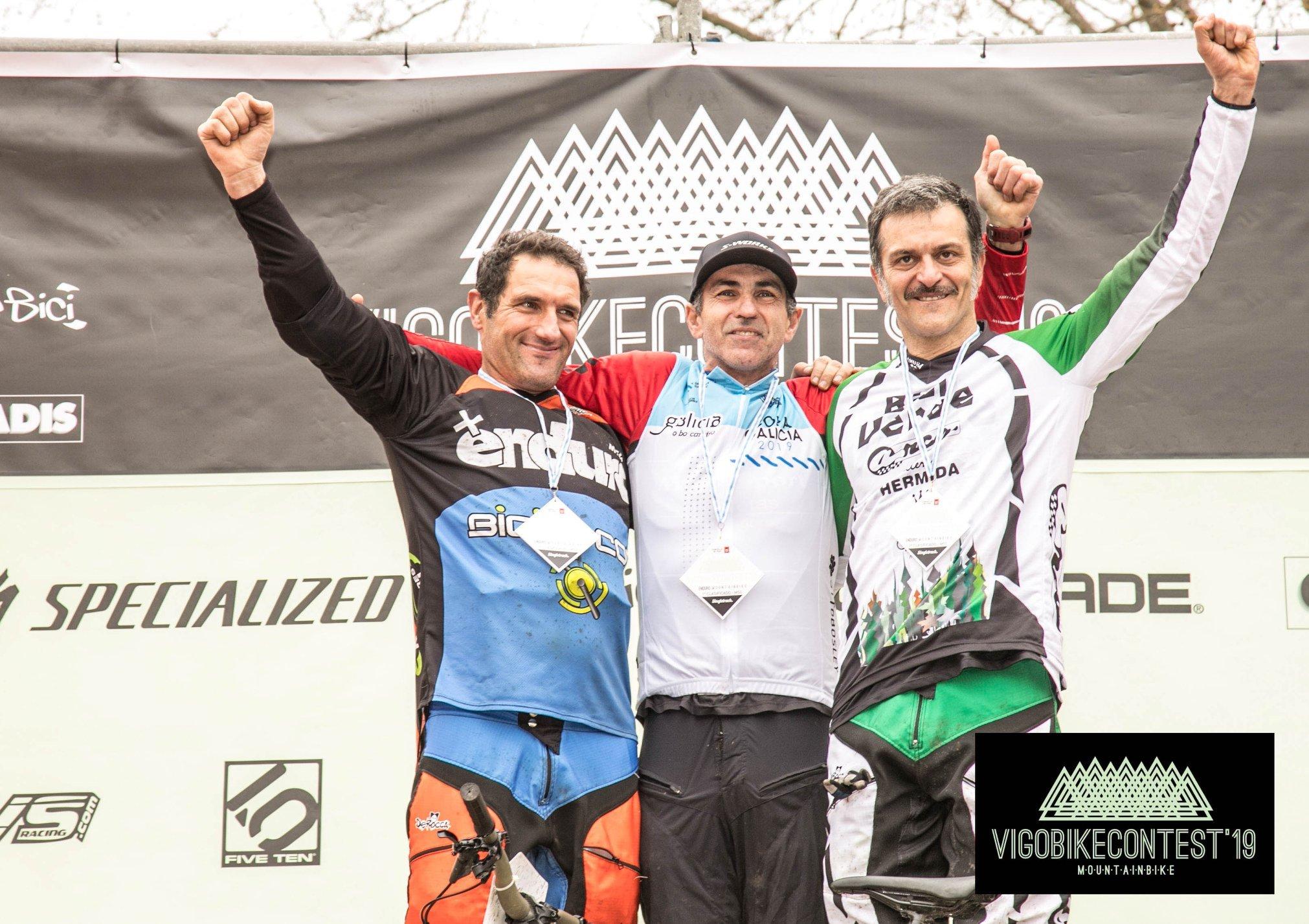 Manuel Gómez, 3º máster 50 en el VigoBikeContest