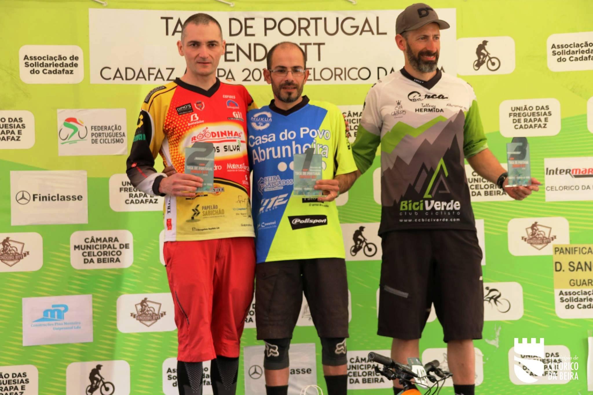 Esteban Lorenzo, 3º máster 40 en la Taça de Portugal-Enduro de Celorico da Beira