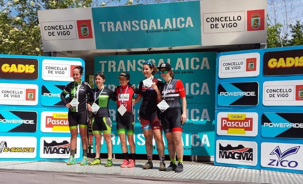 Silvia García, 2º fémina máster en la final de la Transgalaica 2019
