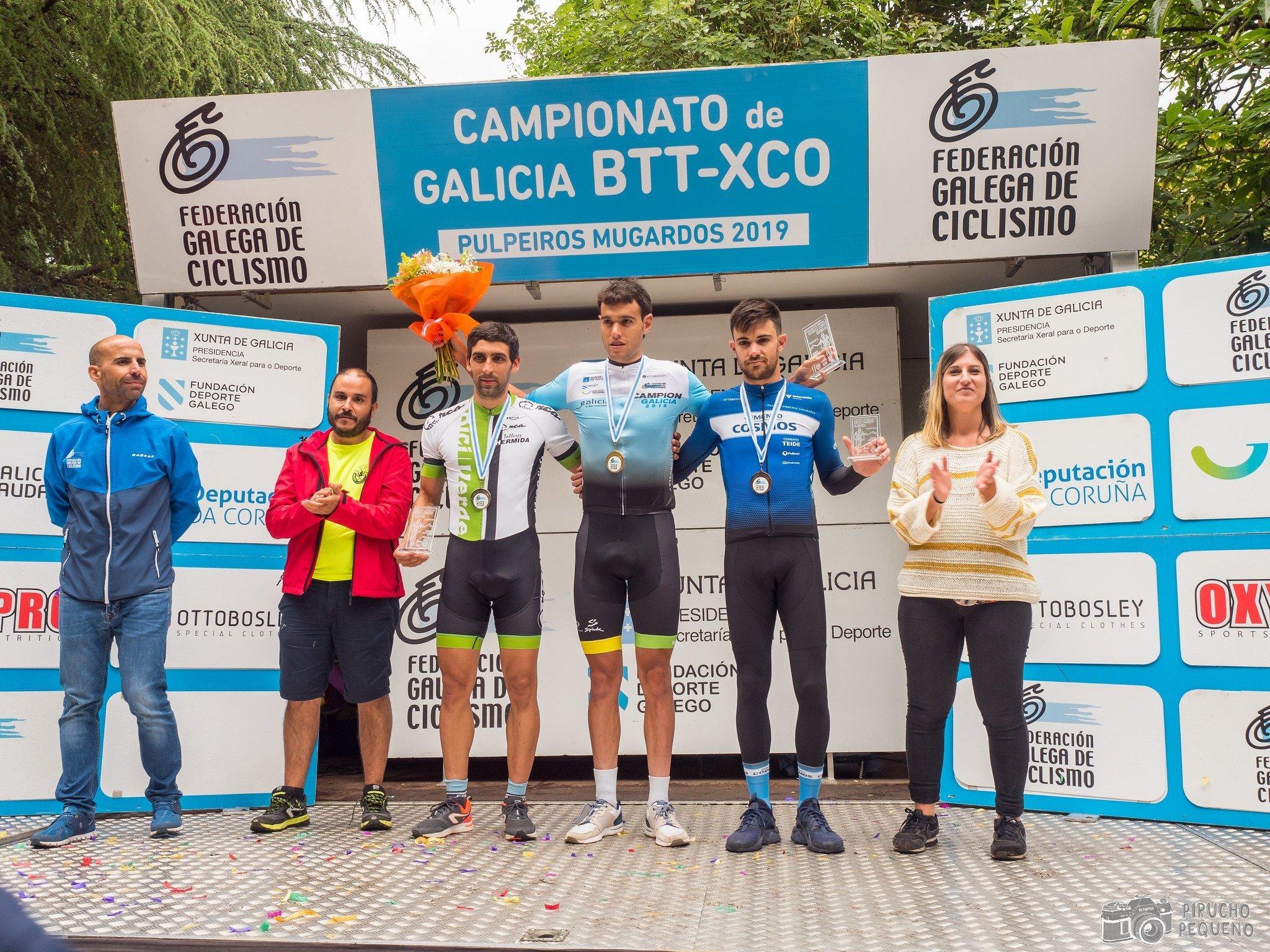 Alberto Pedreira, subcampión de Galicia XCO élite – 2019