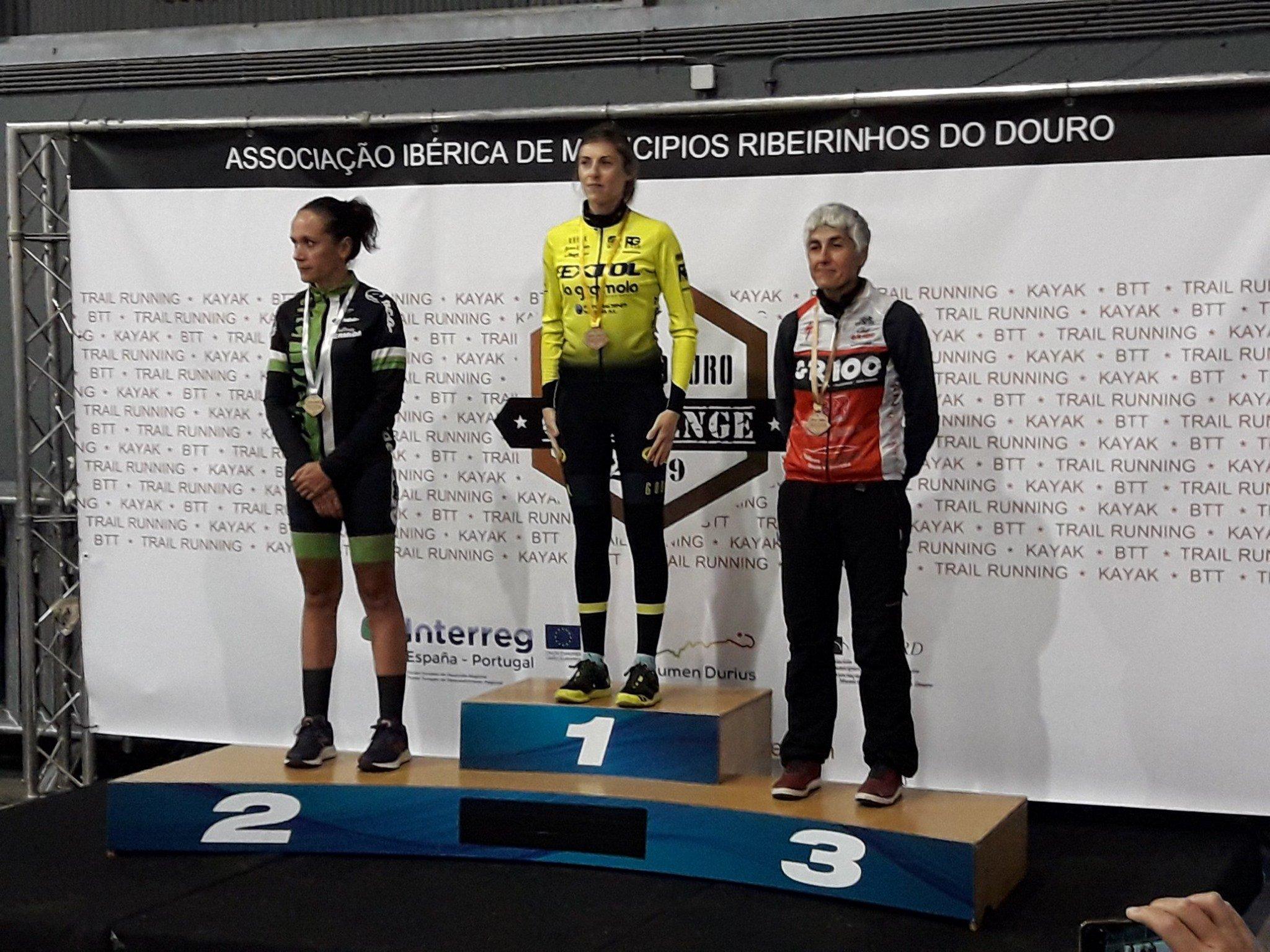 Silvia García, 2ª absoluta na Duero Douro Challenge de Portugal